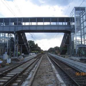 Personenüberführung Bahnhof Finsterwalde