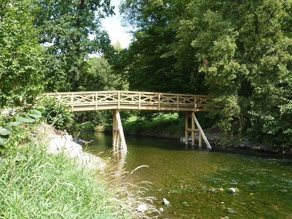 Salonbrücke  Park Tiefurt
