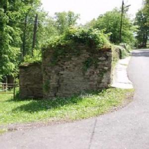 Stützmauern Schloss Schwarzburg