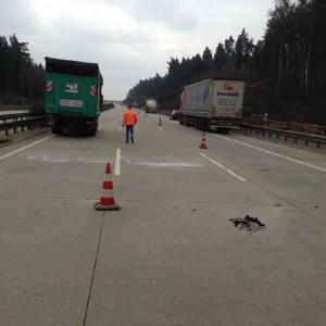 Fahrbahnsanierung in Thüringen